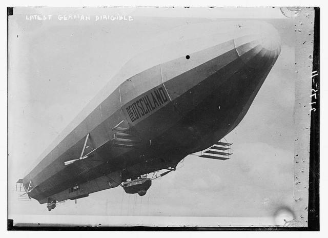 German dirigible