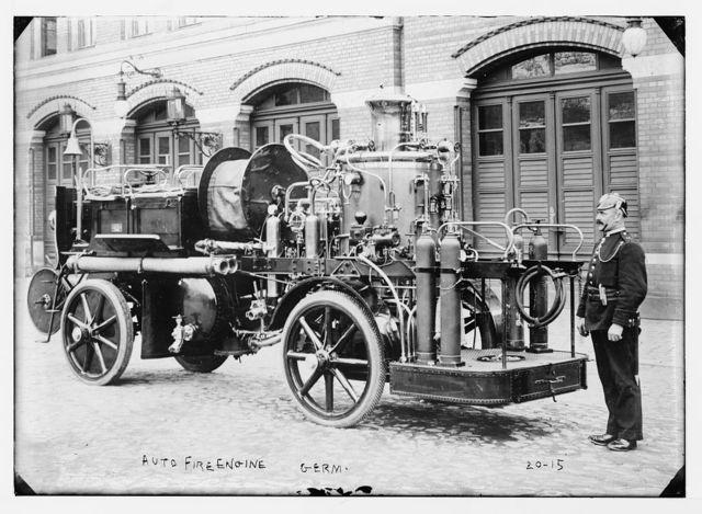 German fire engine, Germany