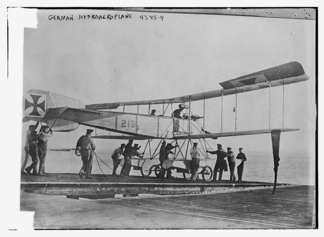 German hydroaeroplane