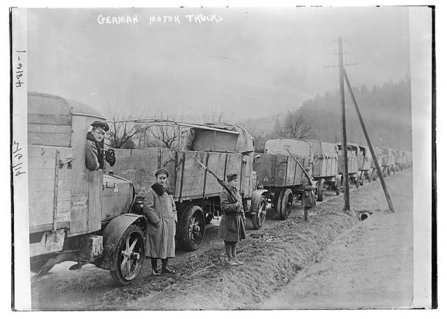 German motor trucks