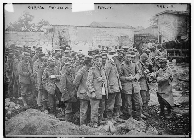 German prisoners -- France