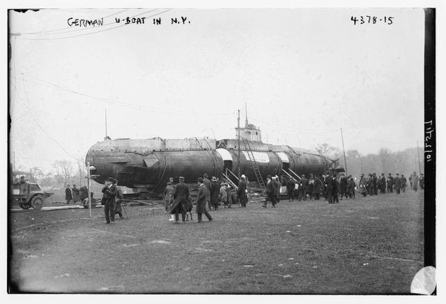 German U-Boat in N.Y.