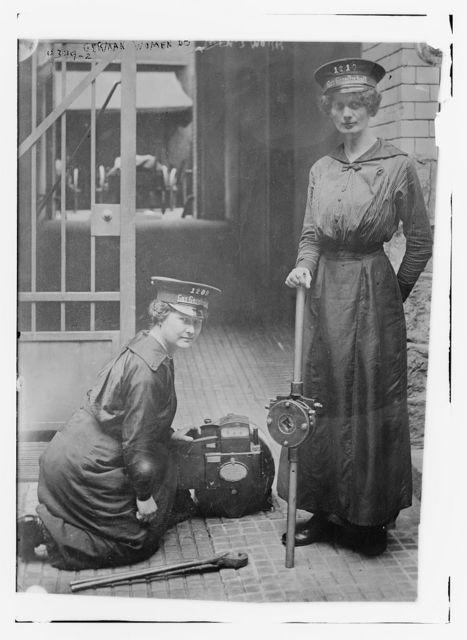 German women do men's work