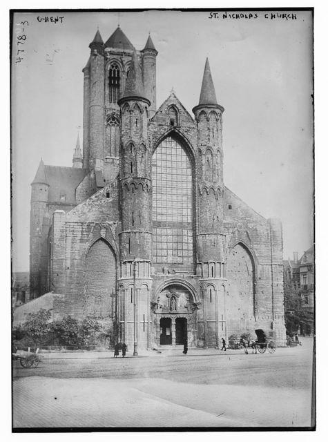 Ghent, St. Nicholas Church