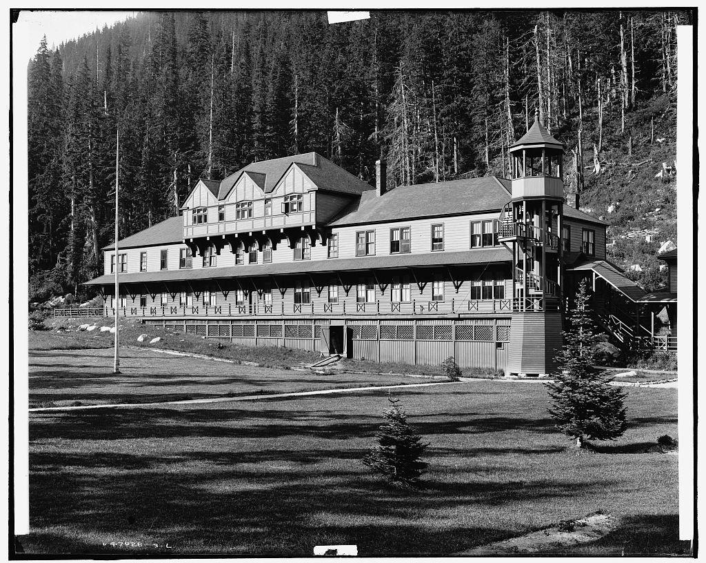 [Glacier House, Selkirk Mtns., Canada]