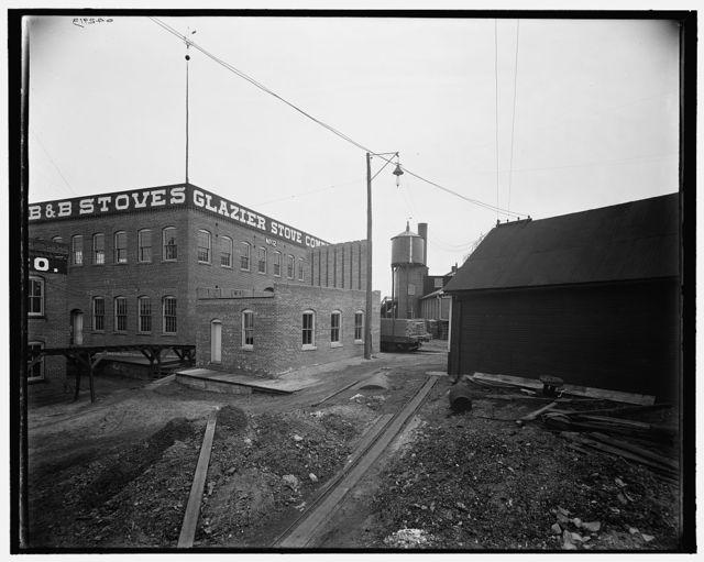 [Glazier Stove Company, brass foundry, Chelsea, Mich.]