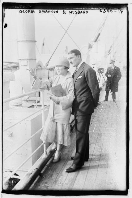 Gloria Swanson & husband