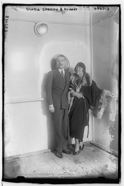 Gloria Swanson & husband