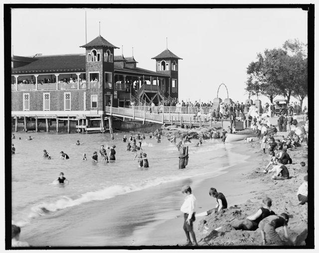 [Gordon Park, bathing scene, Cleveland, Ohio]