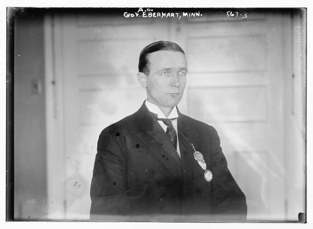 Gov. A.O. Eberhart, Minn