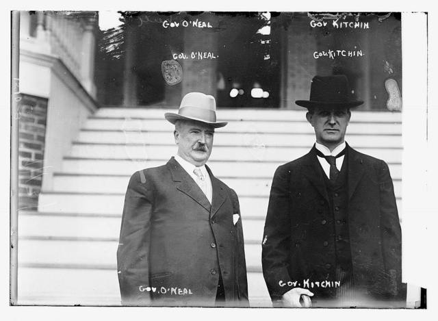 Gov. O'Neal and Gov. Kitchen