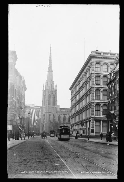 Grace Church, Broadway, New York