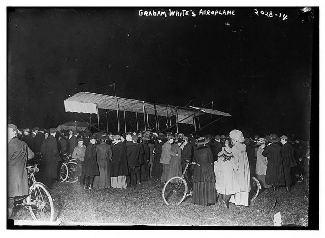 Graham White's [i.e., Claude Grahame-White's] aeroplane