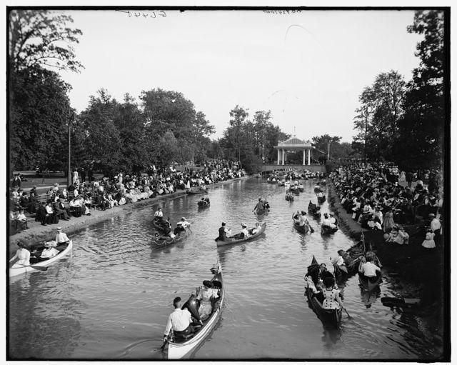 [Grand canal, Belle Isle Park, Detroit, Mich.]