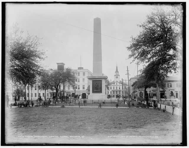 Greene's Monument, Johnson Square, Savannah, Ga.