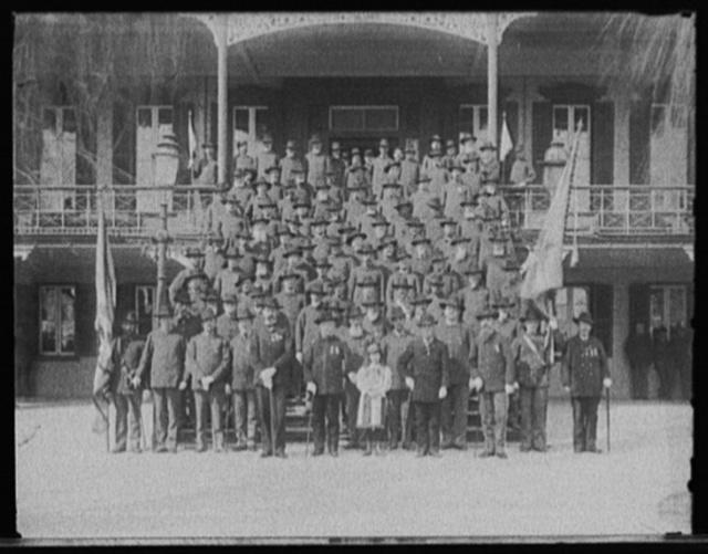 Group of veterans at Soldiers' home, Hampton, Va.