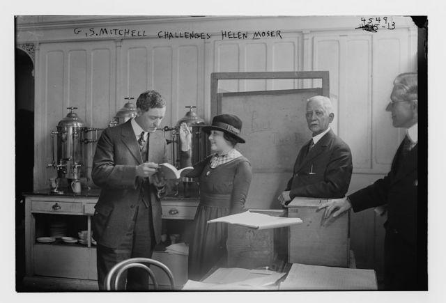 G.S. Mitchell challenges Helen Moser