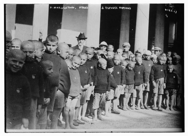 H. Morgenthau, Athens -- refugee orphans
