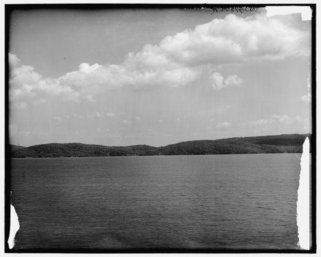 [Hague Bay, Lake George, New York]