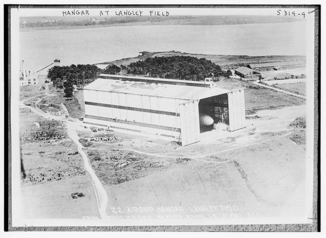 Hangar at Langley field