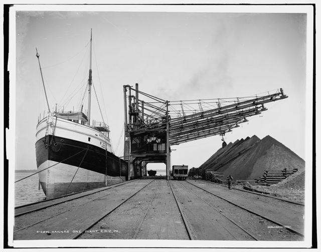 Hanna's ore plant, Erie, Pa.