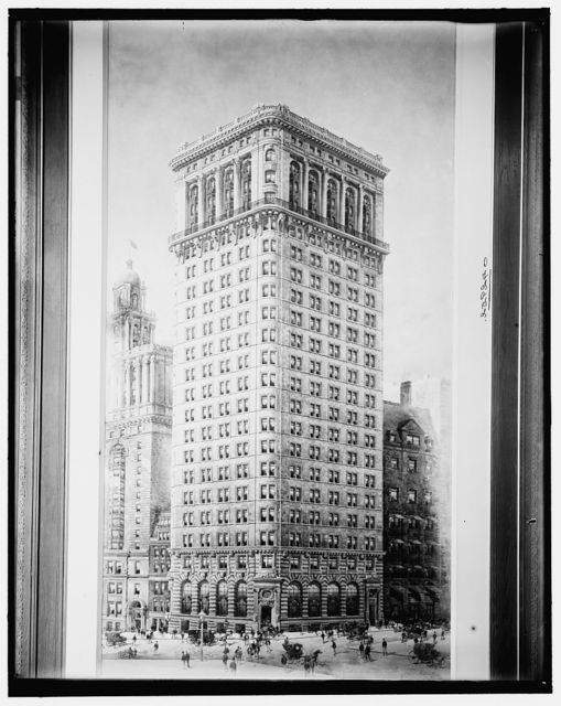 Hanover National Bank building, New York, N.Y.
