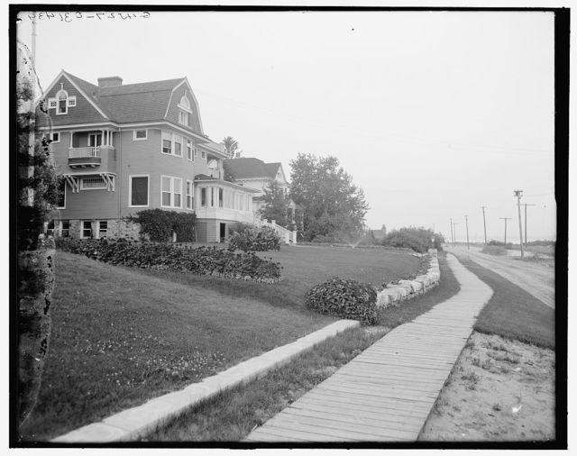 [Harbor Point, Mich., cottages]