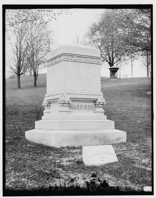[Harrison monument, Crown Hill Cemetery, Indianapolis, Indiana]