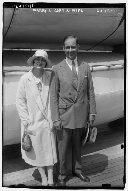 Harry L. Cort and wife