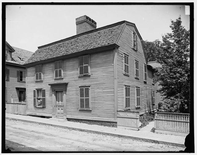 Hawthorne's birth place, Salem, Mass.
