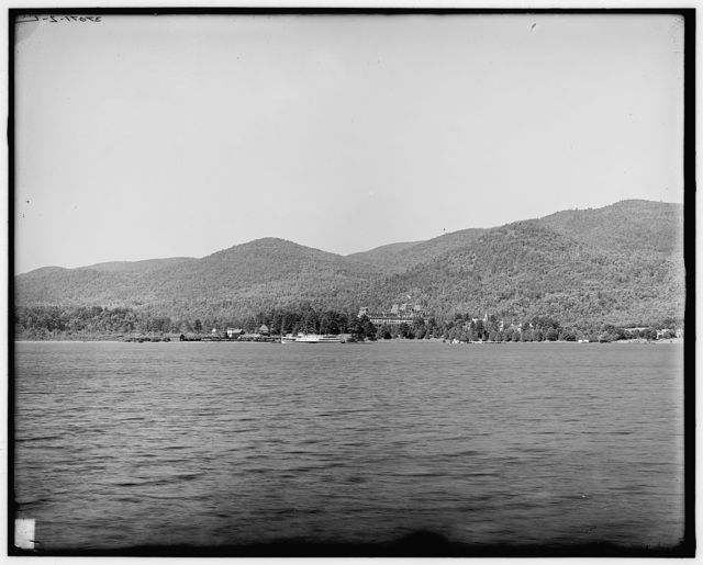 [Head of lake & Mount Prospect, Lake George, N.Y.]