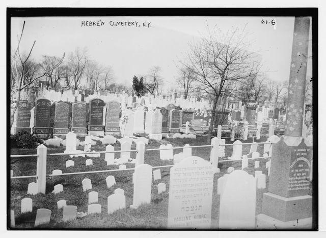 Hebrew Cemetery, New York