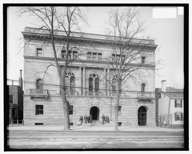 [Hendrie Hall, Yale Law School, New Haven, Conn.]