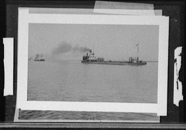 [Henry Cort (whaleback) and barge Manda]