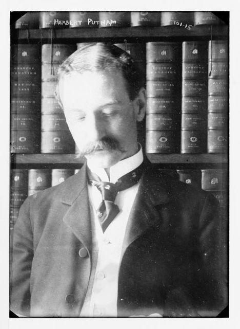 Herbert Putnam, front bust