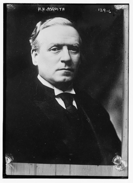 H.H. Asquith, portrait bust