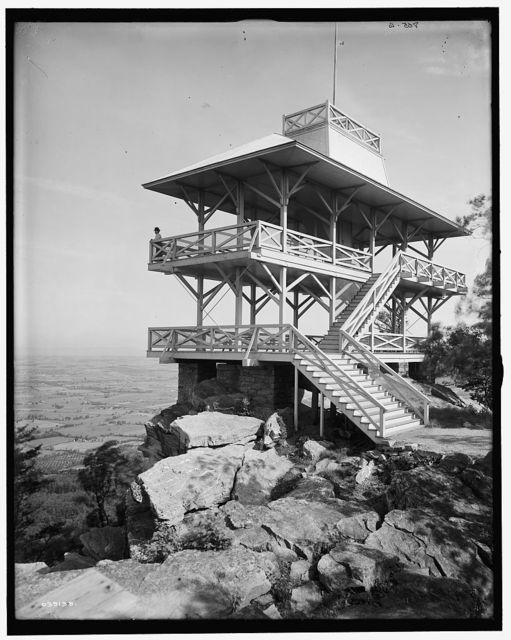 [High Rock Observatory, near Pen Mar Park, Maryland]