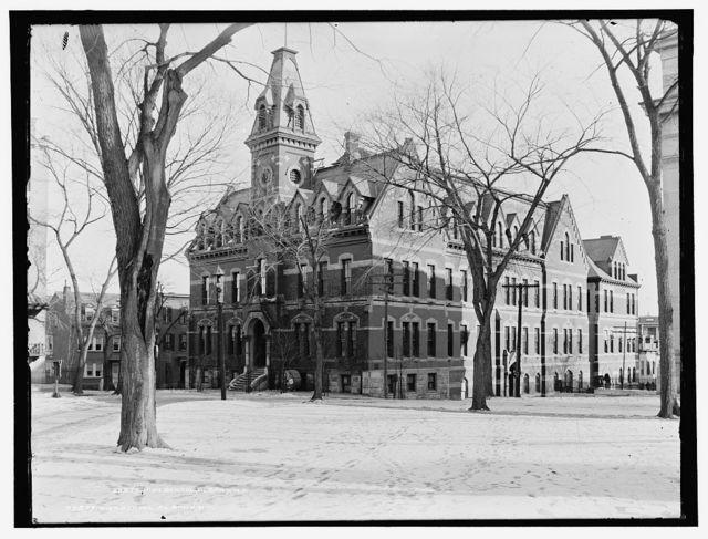 High school, Albany, N.Y.