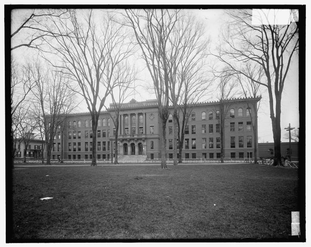 [High school, New Haven, Conn.]
