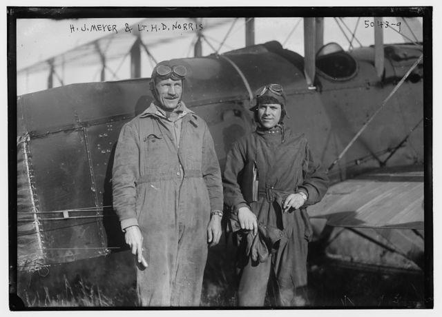 H.J. Meyer & Lt. H.D. Norris