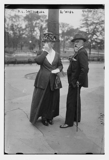H.L. Satterlee & wife