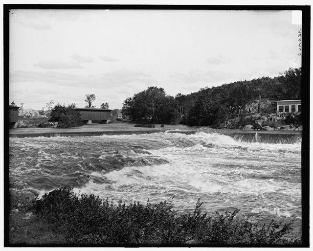 [Hooksett falls, Merrimack River, Hooksett, N.H.]