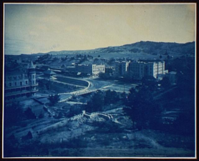 Hot Springs, S.D., Evans Hotel