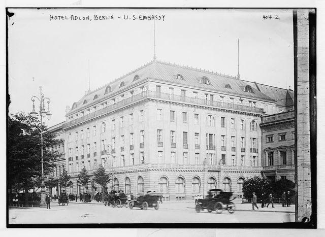 Hotel Adlon, Berlin - U.S. Embassy