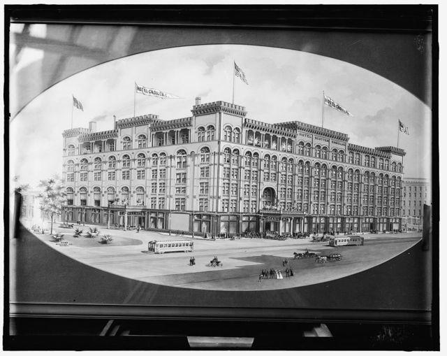 [Hotel Cadillac, Detroit, Mich.]
