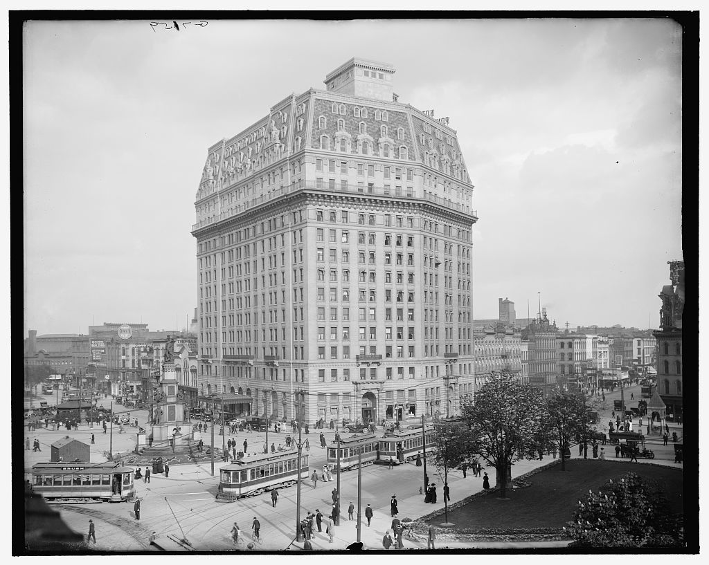 Hotel Pontchartrain Detroit Mich