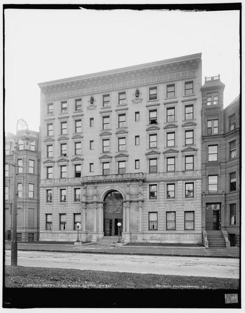 Hotel Tuilleries [i.e. Tuileries], Boston, Mass.