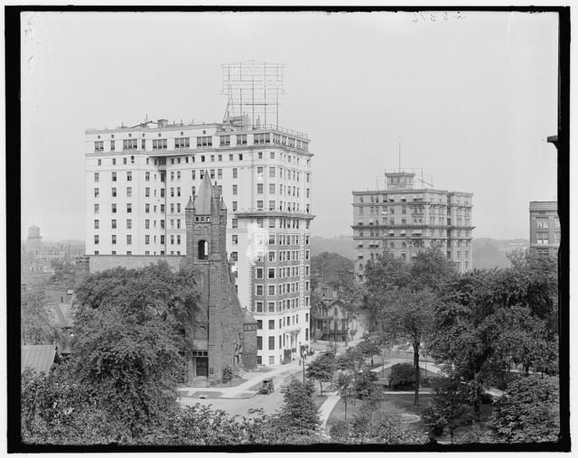 [Hotel Tuller and Hotel Charlevoix, Detroit, Mich.]