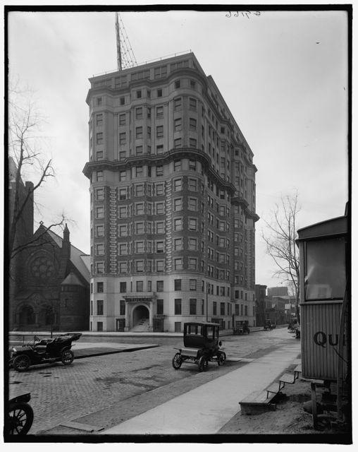 [Hotel Tuller, Detroit, Mich.]