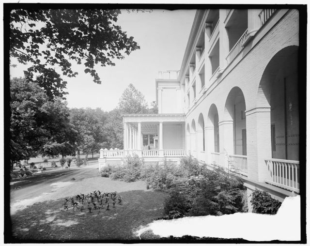 [Hotel, White Sulphur Springs, West Va.]